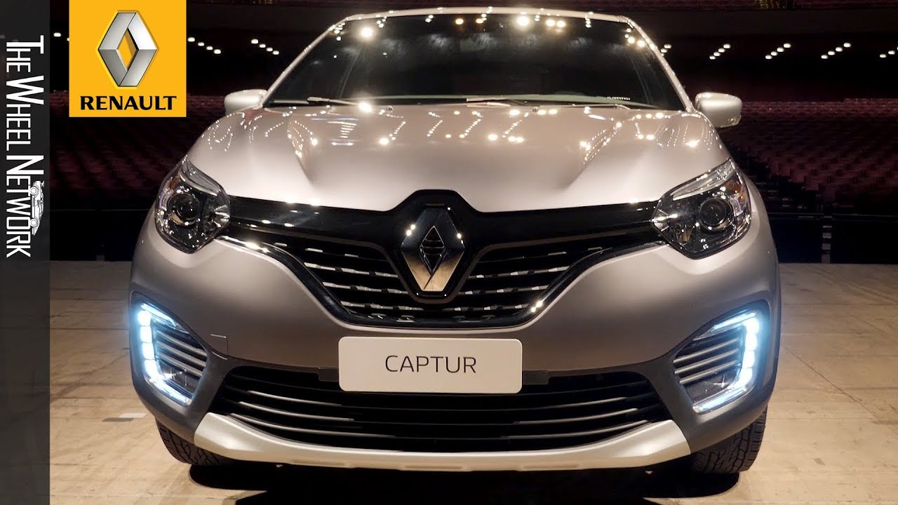 2020 Renault Captur Bose Limited Edition Driving Interior