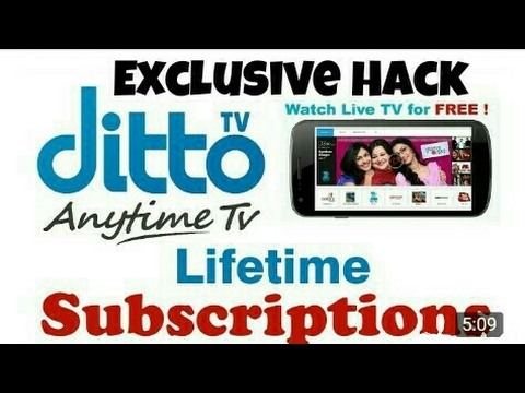 DittoTV Free Subscribed/Cracked Apk with Download link |Exclusive|