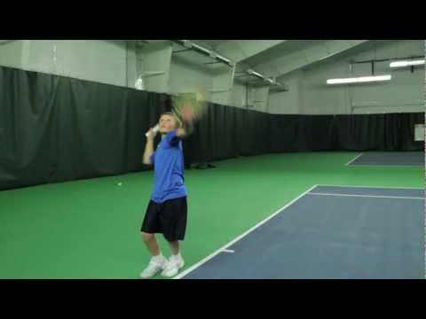 Colorado Tennis: Roger Federer Serve