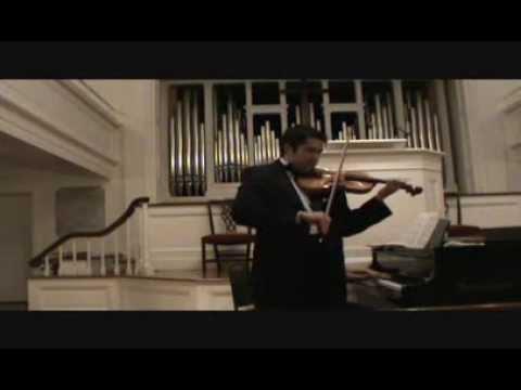 Dinicu-Heifetz Hora Staccato Nathaniel Robinson, violinist (live performance)
