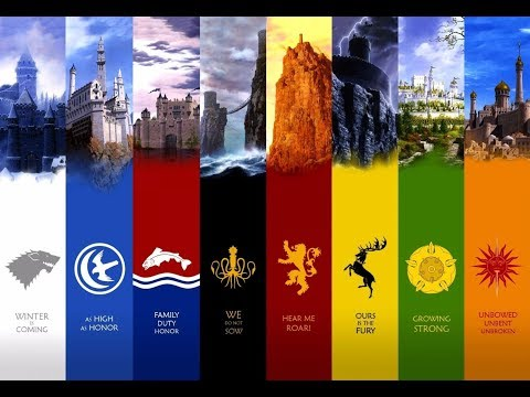 Game Of Thrones All Great Houses Theme Songs