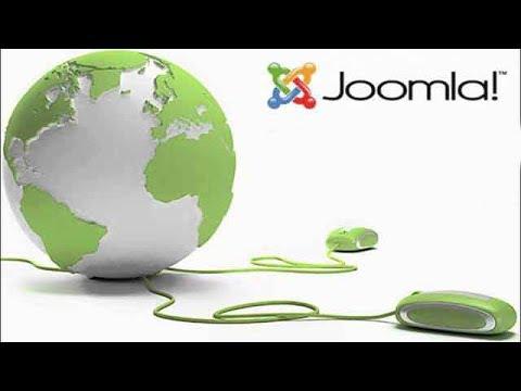 Элементы управления CMS Joomla 3.6.4. Создание материала и редактирование меню Joomla.
