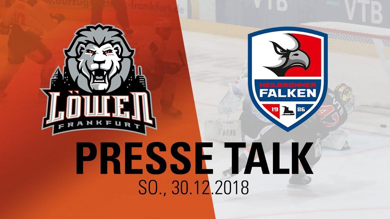 9aa2275fab4b Presse Talk: Löwen Frankfurt - Heilbronner Falken (30.12.2018)