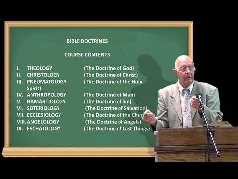 1. Bible Doctrine   Theology 1a
