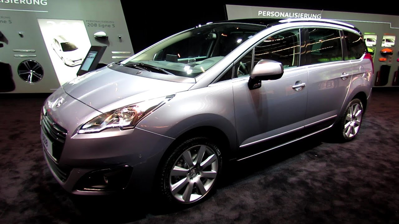 2014 peugeot 5008 exterior and interior walkaround. Black Bedroom Furniture Sets. Home Design Ideas