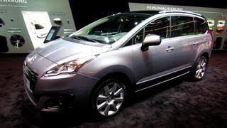 2014 Peugeot 5008 - Exterior and Interior Walkaround - 2013 Frankfurt Motor Show