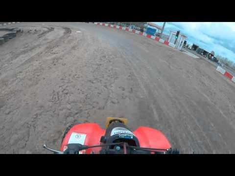 4/17/16 Circle track heat 50cc Kc raceway Gopro
