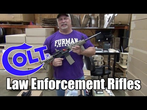 Colt Law Enforcement Rifles - Black Matte or Matte Flat Dark Earth thumbnail