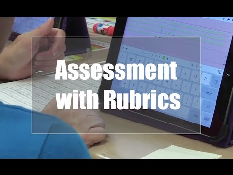 Tech EDGE, Mobile Learning In The Classroom - Episode 07, Assessment with Rubrics