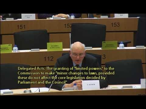 Considerable mutiny among MEPs against Commission's 'delegated acts' - @UKIP MEP Stuart Agnew