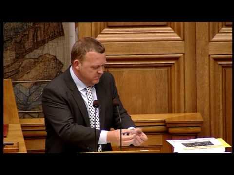 Lars Løkke forklarer regeringens skattepolitik