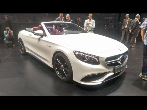 Mercedes S-Class Cabriolet at the Frankfurt Motor Show 2015
