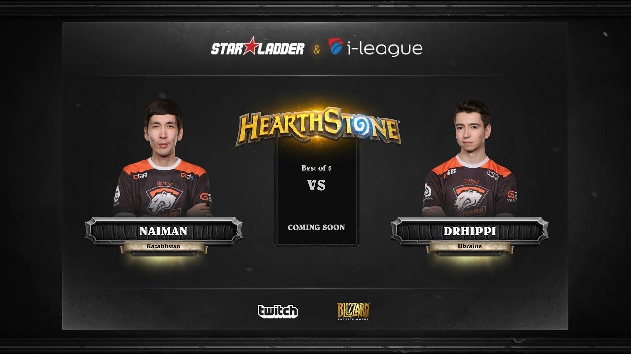 [EN] Naiman vs DrHippi | SL i-League Hearthstone StarSeries Season 3 (13.05.2017)