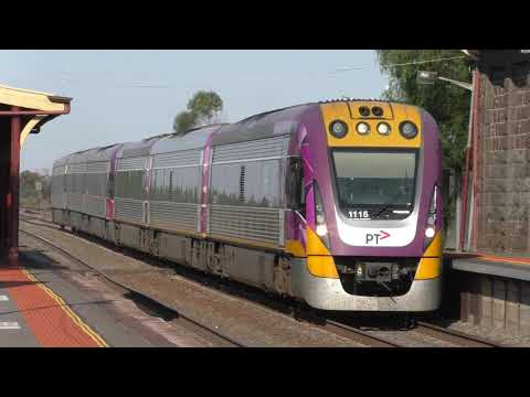 V/Line Trains At Little River; 2019 Avalon Airshow Specials