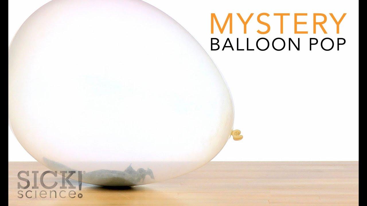 Mystery Balloon Pop - Sick Science! #190