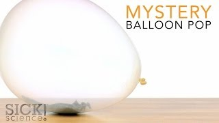 Mystery Balloon Pop - Sick Science! #190