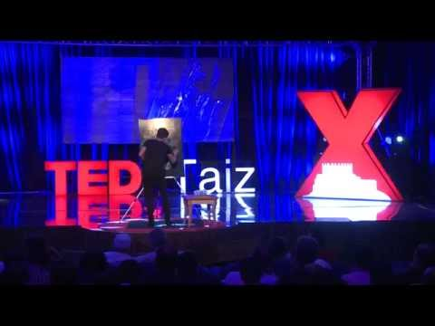 Unique & Innovative Artwork: Abdullah Abdulkareem at TEDxTaiz 2014