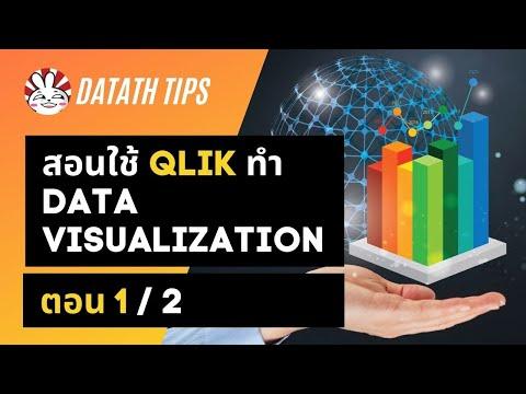 Basic Data Science for Thai: Data Visualization with Qlik 1/2