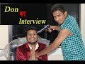 Don ka Interview || Funny Job Interview Video Comedy || Best Comedy Video