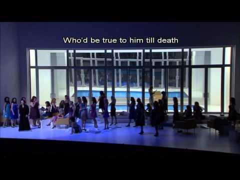 Der Fliegende Hollaender / beginning of Act II, Senta's Ballad