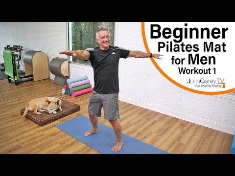 Beginner Pilates Mat for Men 1