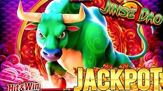 NEW SLOT! Jinse Dao OX Slot Machine Handpay Jackpot - $25 Bet   Wild Wild Samurai & Fire Link Bonus