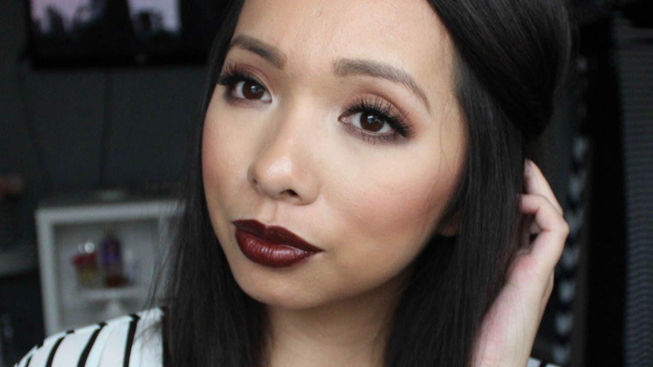 Bien connu Vampy Fall/Winter Makeup w/MAC Film Noir | BEAUTY - YouTube YA55