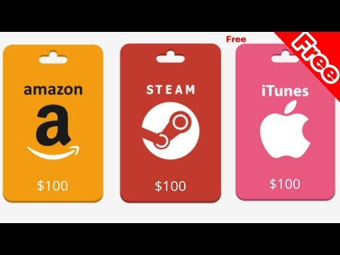 Amazon | ITunes | Steam | Gift Card (100$ Free)