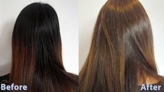 How to dye asian hair brown 3 / How to do a root touch up Thumbnail