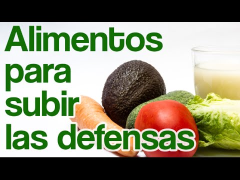 C mo subir las defensas los mejores alimentos para - Alimentos para subir las defensas ...