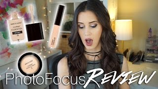 wet n wild photo focus foundation concealer powder review