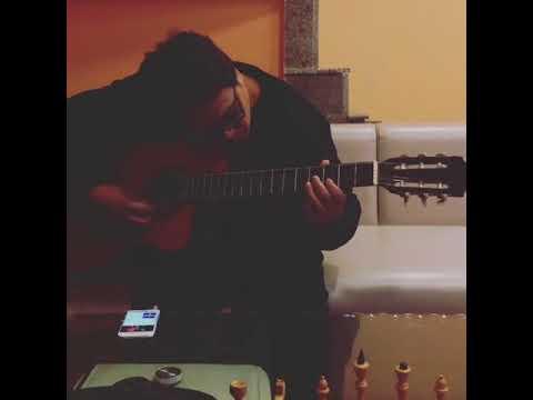 B1 Hostel Yerevan - Giovanni Playing Guitar