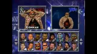 WCW/nWo Thunder (PlayStation) Intro and Wrestler Rants