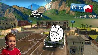 Tanki Online Troll Montage! Funny! (2021) танки Онлайн