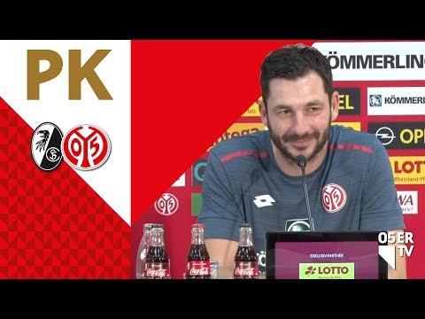 Die Pressekonferenz vor dem Spiel beim SC Freiburg | #SCFM05