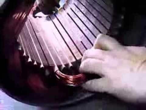 видео: Перемотка статора электродвигателя. Часть 1.