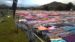 World's largest blanket.. Paarl dcs