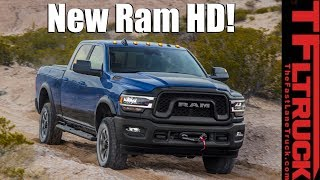 2019 Ram HD Revealed with a Stunning 1,000 Lb-Ft of Torque!
