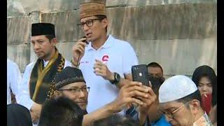 Download Video Sandiaga Uno Bertemu Tokoh Agama dan Guru Honorer MP3 3GP MP4