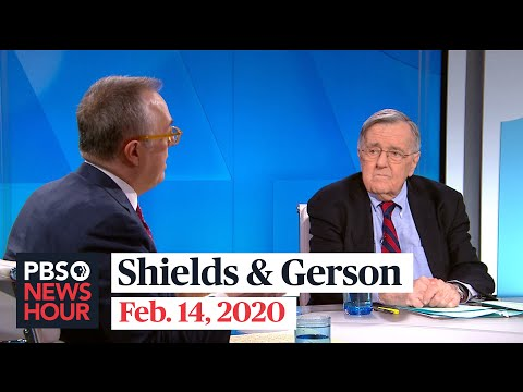 Mark Shields and Michael Gerson on New Hampshire primary, Trump vs. DOJ