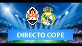 (SOLO AUDIO) Directo del Shaktar 2-0 Real Madrid en Tiempo de Juego COPE