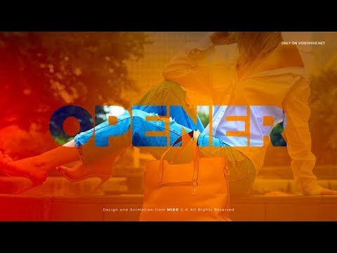 After Effects Template: Clean Photo Words Logo Opener