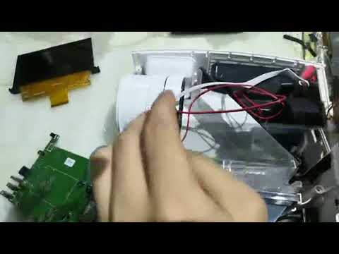 How to Open F30 projector and Clean dust on the LCD matrix