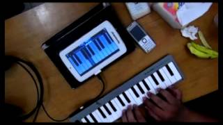 Speed Up Pad Pro Android Ice Cream Sandwich 4.03 with MIDI Controller @budipasadena