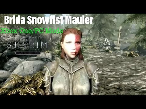 Skyrim SE Xbox One/PC Mods|Brida Snowfist Mauler