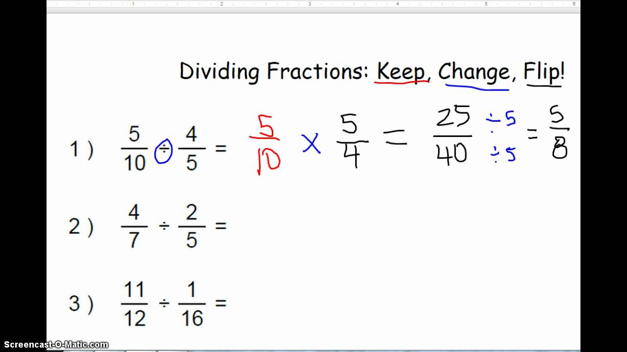 how to find the gcf of fractions