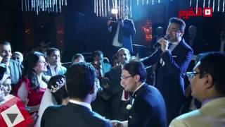 اتفرج | حمادة هلال يشعل حفل زفاف نجلة الإعلامي أحمد موسي