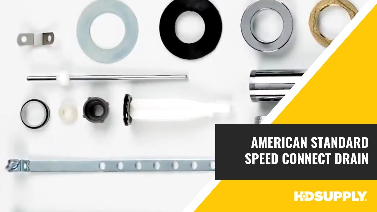 Speed Connect Drain by American Standard - HD Supply Facilities ...
