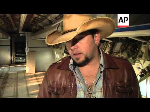 Country star Jason Aldean takes us behind the scenes of music video for 'Flyover States'