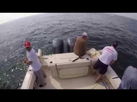 Fishing For Black Sea Bass with Viktor, Vladimir, Keith & Roger July 2015